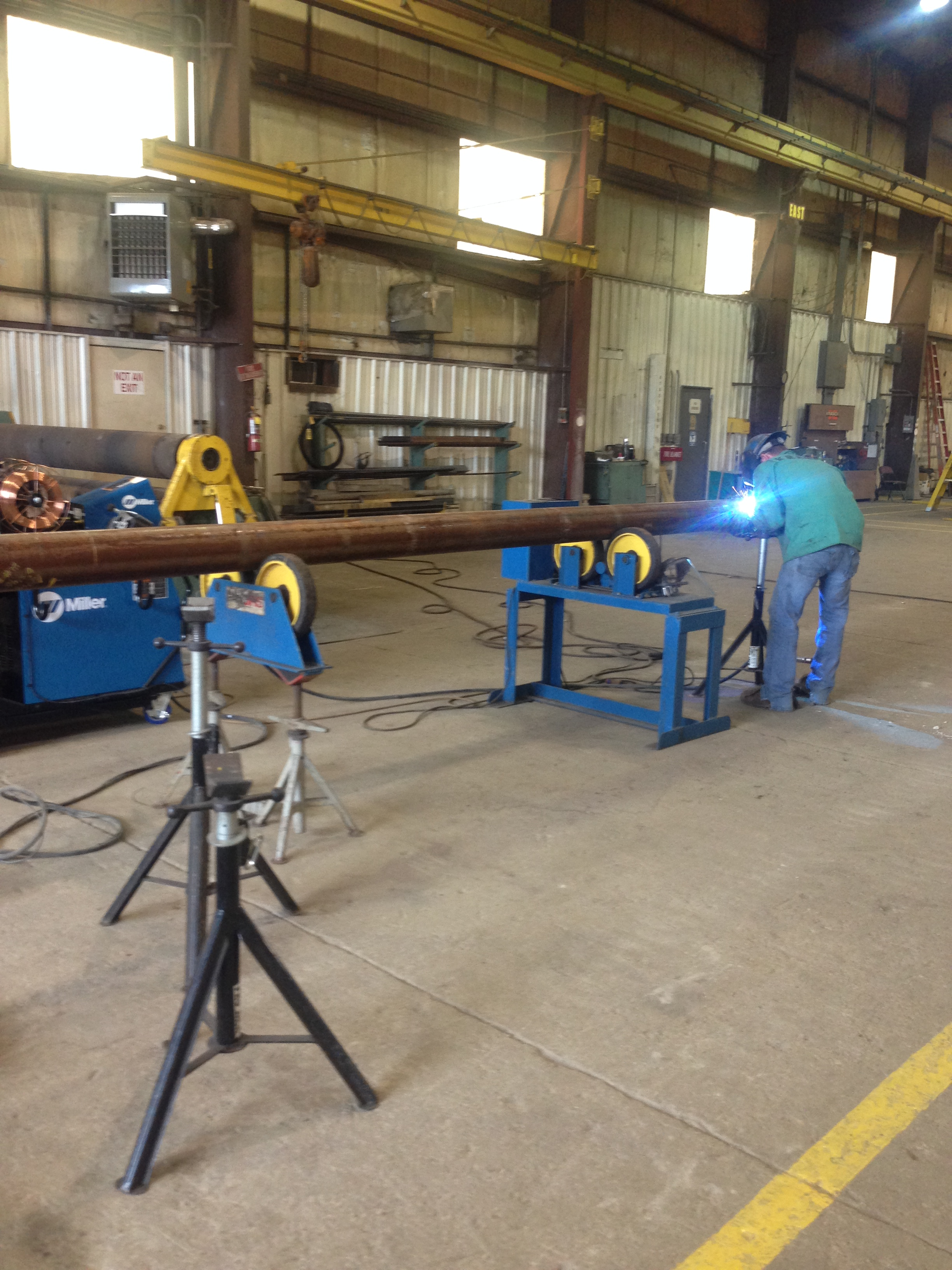 misc pipe skid fabrication gray wolf industrial