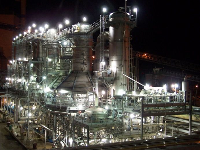 Turnkey Plant Process Installation