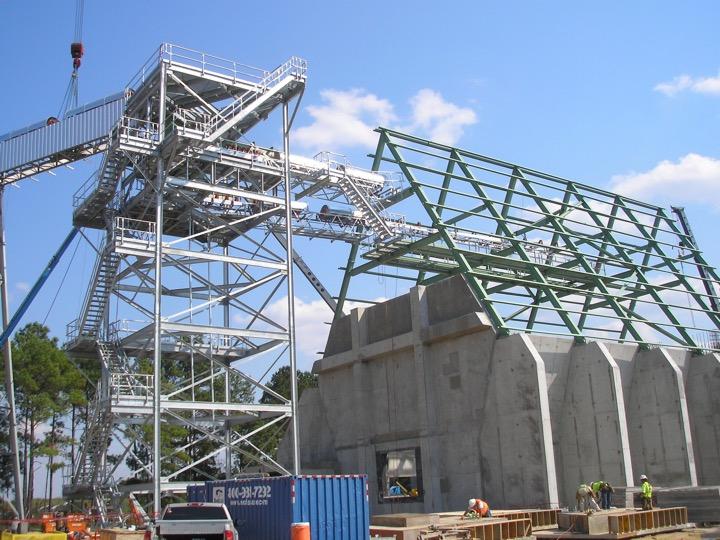 Conveyor System and Storage Bin Installation