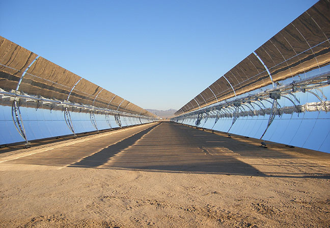 Mojave Solar Project – Mirror Project